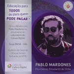 Movimento Estudantil do Chile - Pablo Mardones