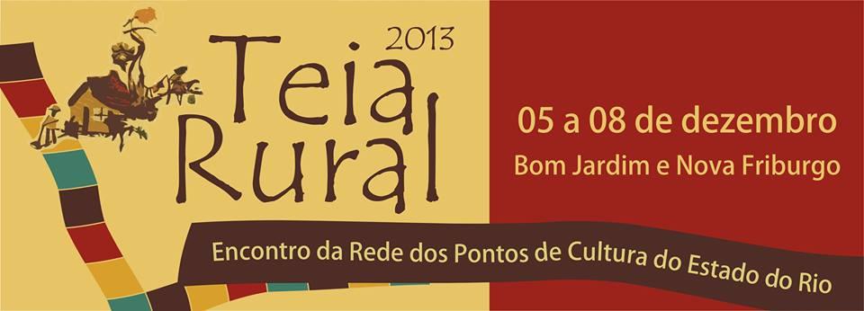 Teia Rural RJ busca fortalecer articulações entre os Pontos de Cultura