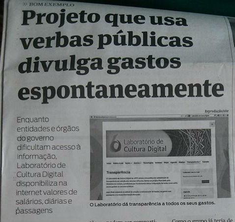 Lab em pauta: projeto ganha destaque na mídia paranaense